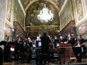 Concierto en la Catedral de Jaca, 13 de septiembre de 2008
